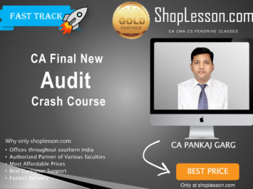 CA Final New Syllabus Audit Crash Course By CA Pankaj Garg For May 2020 & Nov 2020 Video Lecture + Study Material