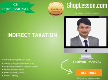 CS Professional New Syllabus IDT Regular Course By CA Yashvant Mangal For Dec 2020 Video Lecture + Study Material