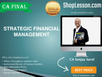 CA Final New Syllabus Strategic Financial Management Regular By Sanjay Saraf For Nov 2020 Video Lecture + Study Material