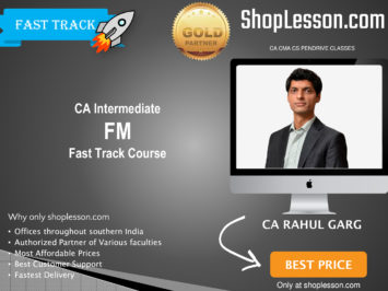 CA Final New Syllabus SFM Regular Course in English By CFA Archana Khetan For May 2020 & Nov 2020 Video Lecture + Study Material