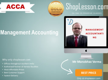 ACCA by VGLD- Management Accounting by Mr Manobhav Verma in Google Drive/Pen Drive/Online