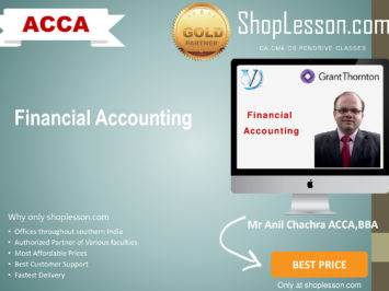ACCA by VGLD- Financial Accounting by Mr Anil Chachra in Google Drive/Pen Drive/Online