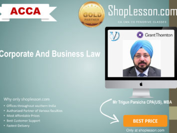 ACCA by VGLD – Corporate And Business Law by Mr Trigun Pascricha in Google Drive/Pen Drive/Online