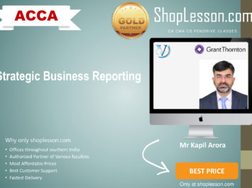 ACCA by VGLD – Strategic Business Reporting by Mr Kapil Arora in Google Drive/Pen Drive/Online