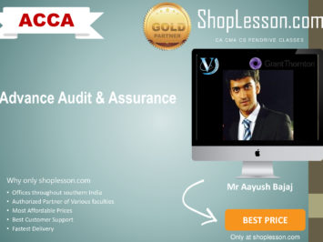 ACCA by VGLD- Advance Audit and Assurence by Mr Aayush Bajaj in Google Drive/Pen Drive/Online