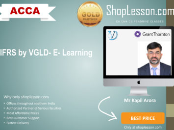 IFRS by VGLD- E- Learning from GT by Mr Kapil Arora Online on GT LMS