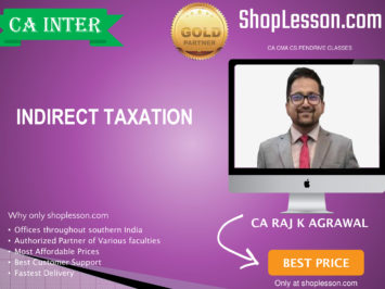 CA Intermediate IDT (GST + Custom + FTP Regular Course By CA Raj Agrawal For Nov 2020 Onwards Video Lecture + Study Material
