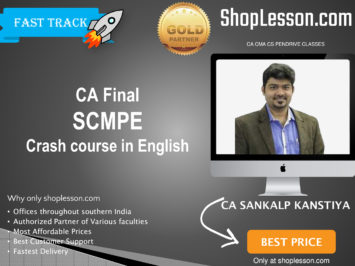 CA Final New Full Course in English SCMPE (Costing Crash Course By CA Sankalp Kanstiya For May 2020 & Nov 2020 Video Lecture + Study Material