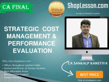 CA Final New Syllabus SCMPE Regular Course By CA Sankalp Kanstiya For May 2020 & Nov 2020 Video Lecture + Study Material