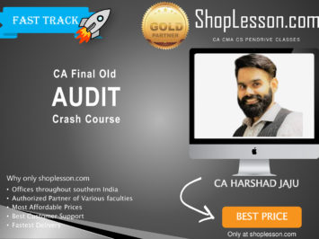 CA Final Old Syllabus Audit Crash Course By Harshad Jaju For May 2020 & Nov 2020 Video Lecture + Study Material
