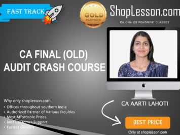 CA Final Old Syllabus Audit Crash Course By CA Aarti Lahoti For May 2020 & Nov 2020 Video Lecture + Study Material
