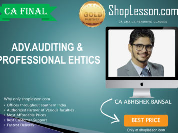 CA Final New Syllabus Audit Regular Course By CA Abhishek Bansal For May 2020 & Nov 2020 Video Lecture + Study Material
