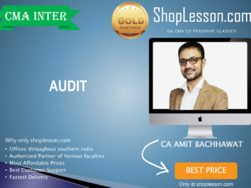 CMA Inter – Audit Regular Course By Amit Bachhawat For Dec 2020 Video Lecture + Study Material