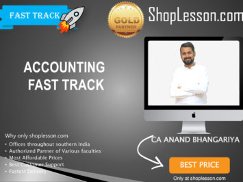 CA Intermediate Accounting Fast Track By CA Anand Bhangariya For Nov 2020 Onwards Video Lecture + Study Material