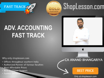 CA Intermediate Advance Accounts Crash Course By CA Anand Bhangariya For Nov 2020 Onwards Video Lecture + Study Material