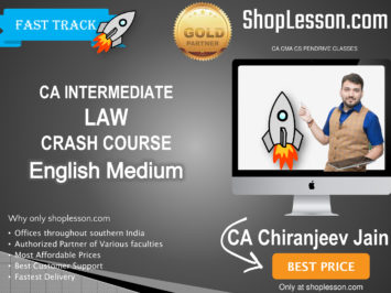 CA Final FR Fastrack In English : Video Lecture + Study Material By CA Chiranjeev Jain (For Nov. 2020 & Onwards)
