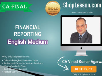 CA Final FR New Syllabus 1.2 Views In English Regular Batch : Video Lecture + E Book By CA Vinod Kumar Agarwal (For For May 20 & Nov. 20 )
